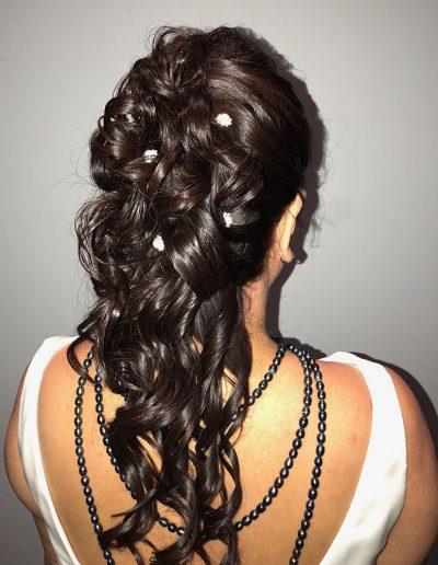 wedding hair long